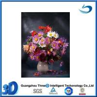 China Flower High quality PET 3d oil painting of beautiful flower on sale