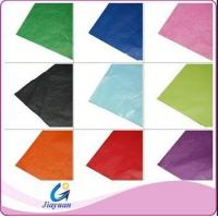 21gsm colored wrapping gift Glassine paper /high grade glassine paper wrapping gift
