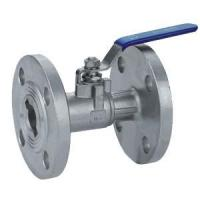 China Piece Ball Valve And Screw Valve Series Product Ball Valve With Flange Connection on sale