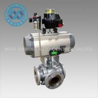 Quality Pneumatic Ball Valve Product  Pneumatic 3 way Ball Valve wholesale