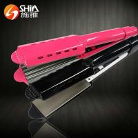 China SY-001 Iso professional cheap bling bling hair straightener with curler with fla on sale