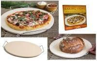 how to clean a stone pizza tray