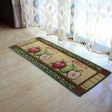 China iHappy Fresh Picked Apples Fabric Non-slip Kitchen Mat Rug,47x18 Inches on sale