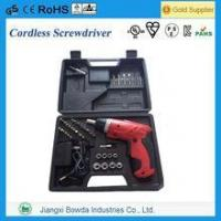 Quality 46pcs Cordless Screwdriver Combo Kit with Lithium Battery wholesale
