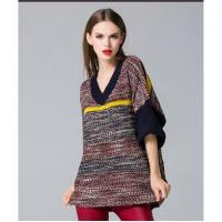 Quality loose pullover knitted sweater wholesale