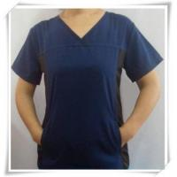 China CONTRAST COLOR WOMEN SCRUB/MEDICAL UNIFORM/HOSPITAL SCRUBS on sale