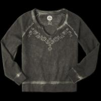 China Sale Women's French Terry Pullover Crew on sale