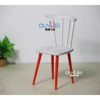China 1:12 Scale Dollhouse Miniature Furniture Toy Chair Fashion Dollhouse Wooden Mini colorful Chair on sale