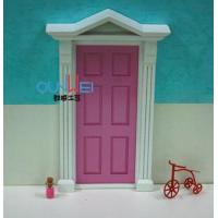 Buy cheap Doll house miniatures toys, 2014 Fashion design mini Wood Fairy Doors hand made from wholesalers