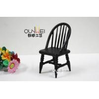China Dollhouse Miniature Furniture Toy ,wooden mini Chairs on sale