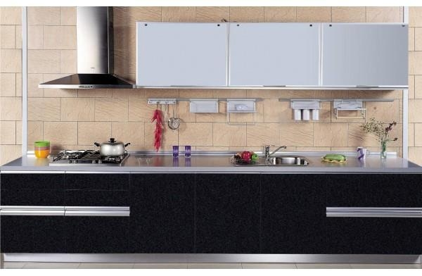 Of Kitchen Cabinet China Top Quality Modular Black Acrylic Kitchen