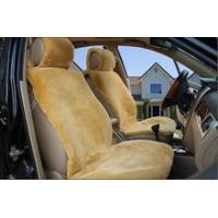 China affordable fake sheepskin car seat cover on sale
