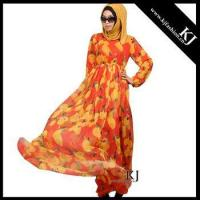 Buy cheap Kyle and Jane 2016 printed chiffion muslim dress for women from wholesalers