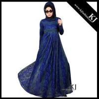 Buy cheap 2016 dubai Kyle and Jane muslim women lace dress clothing with full linning from wholesalers