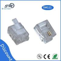 Quality RJ11 modular plug 6 pin 2 core telephone cable connector wholesale
