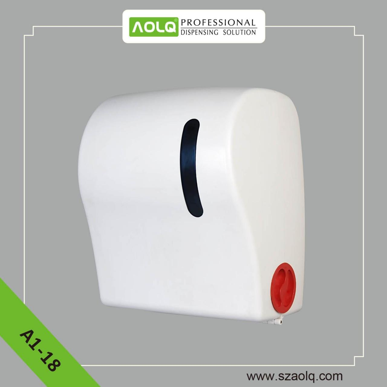 China Paper Dispensers A1-18 Auto cut Paper towel Dispenser on sale