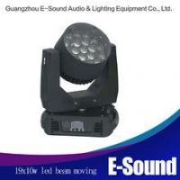 Quality 19x10w led moving head zoom lights moving head stage light wholesale