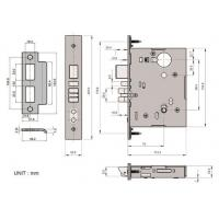 Buy cheap Mortise Lock M8A0 UL Listed. ANSI/BHMA A156.13 Grade 1 from wholesalers