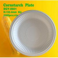 Quality Cornstarch Plate 6inch wholesale