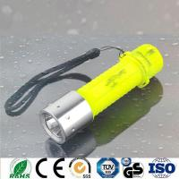 China Diving Flashlight Diving Led Rechargeable Strobe Led Diving Torch D504 on sale