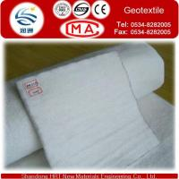 Buy cheap Short Fiber Polyester Non Woven woven nonwoven Geotextiles Building 200g-800g/m2 from wholesalers