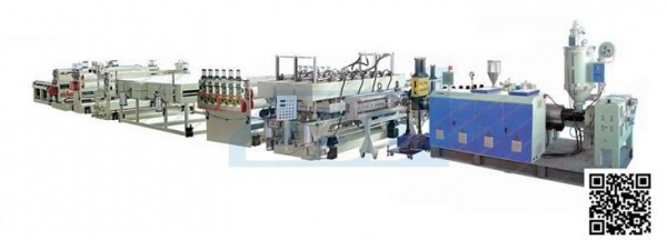 China Contact Now PE、PP、PC Corrugated Sheet Production Line