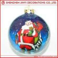 Buy cheap Promotional beautiful printed christmas ball from wholesalers