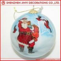 Quality Promotional decorative printed christmas ball wholesale
