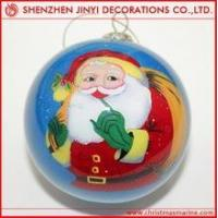 Quality Promotional Rose red Christmas ball wholesale