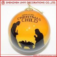 Quality Promotional Silver Christmas ball wholesale