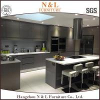2015 China Best Quality Modern Handle Free Lacquer Kitchen Cabinets