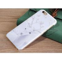 Buy cheap Succinct Christmas deer Hard PC phone cases from wholesalers
