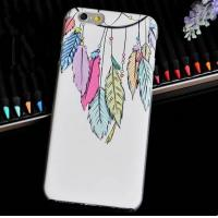 Buy cheap Multicolor iridescent leaves Hard PC phone cases from wholesalers