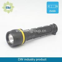 Neon PVC Plastic Flashlight