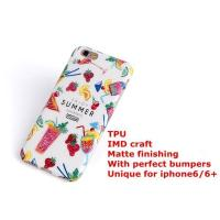 Buy cheap watermelon frosted finishing IMD TPU phone cases from wholesalers