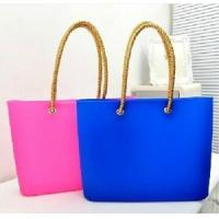 Buy cheap silicone hand bag from wholesalers