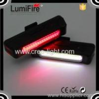 Buy cheap Lumifire S630 Super Bright bicycle Rechargeable LED USB Bike Light COB technology bicycle tail light from wholesalers