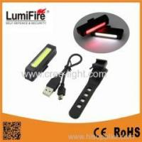 Buy cheap Lumifire USB Rechargeable Carbon Light 100Lumnes COB Bicycle Light from wholesalers