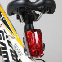 Buy cheap POPPAS S50 Flash Mode Cycling Safety IPX4 Waterproof bike tail Warning Led Bicycle laser Light from wholesalers