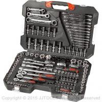 China Service Trolley With Plastic Worktop sockets sets hand tools 150-PC Socket Tool Set on sale
