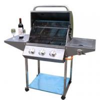 China Classic design Full stainless steel 3-burners Gas Grills AU-1AO3S on sale