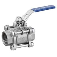 Cheap 3PC BALL VALVE WITH LOCKING DEVICE for sale