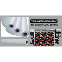 Quality 100gsm Sublimation Paper for Epson F9200 Printing wholesale