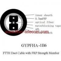Quality FTTH Duct Cable 1 core with 0.5mm FRP strength member wholesale