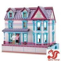 Quality Musical toys Deluxe Self-Storing Fully Furnished Dollhouse Model No.: SY19005 wholesale
