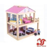 Quality Musical toys KidKraft Country Lane Cottage Dollhouse Model No.: SY19003 wholesale