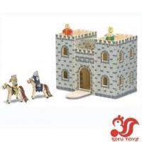 Quality Musical toys Wooden castle and go Model No.: SY19001 wholesale