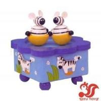Quality Musical toys Wooden Rotating Music Box Model No.: SY15018 wholesale