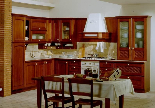 Cheap solid wood kitchen cabinets of vegasvccucine for Cheap solid wood kitchen cabinets