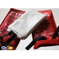 Buy cheap CE Approved 100% Glass Fiber Fire Retardant Blankets Anti High Temperature from wholesalers